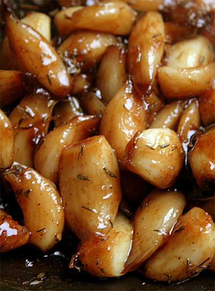 soft garlic confit