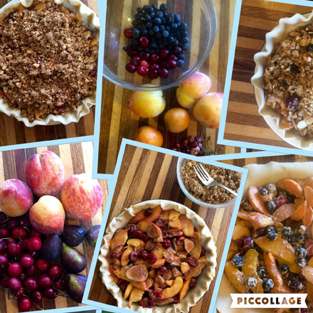 peachy fruit pies