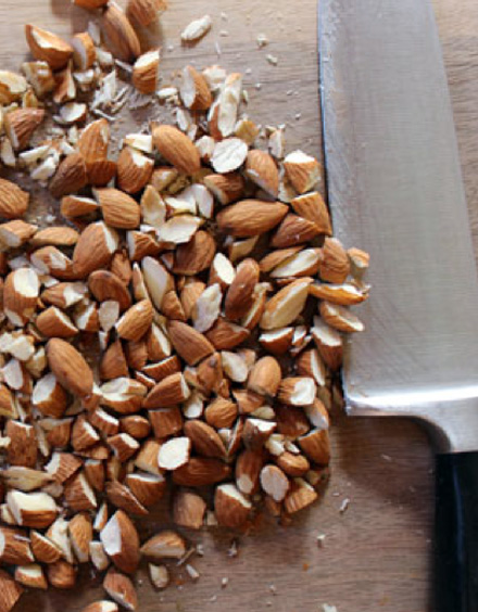 chopped almonds - photo #40