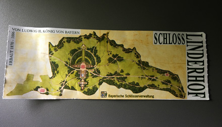 Linderhof ticket