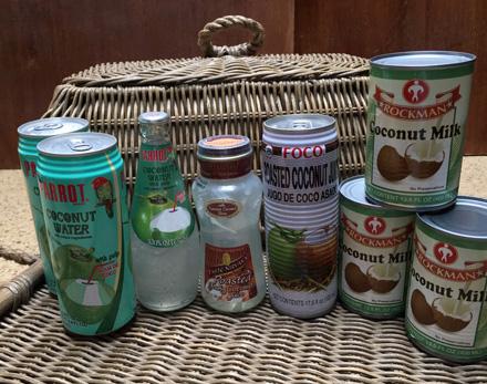 coconut milk water