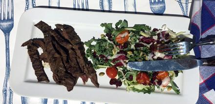john ash flap steak
