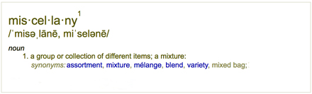 miscellany-definition